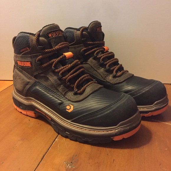 """ad6fe84bbdc Wolverine Overpass Carbonmax 6"""" Boot size 7.5 M"""